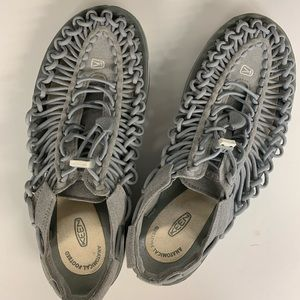 Keen braided cord sandals. Size 9.5